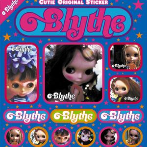 "Cutie Magazine ""Blythe Sticker"""