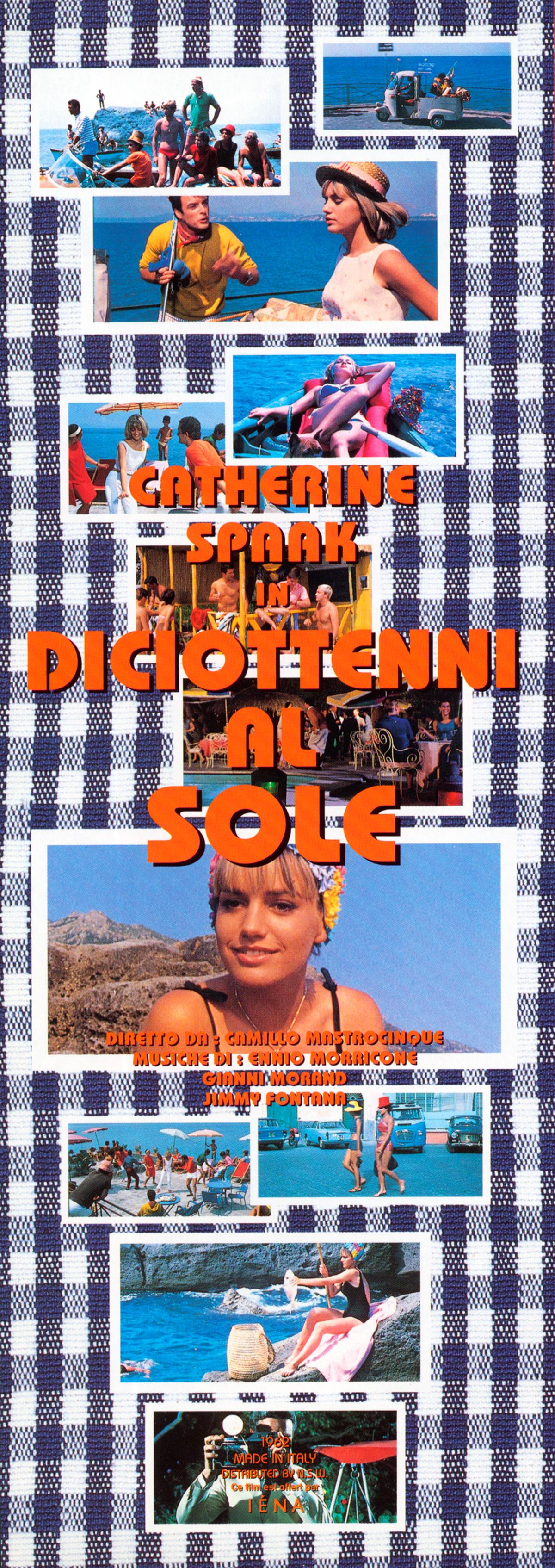 """Catherine Spaak in """"Diciottenni Al Sole"""" """"La Voglia Matta"""""""