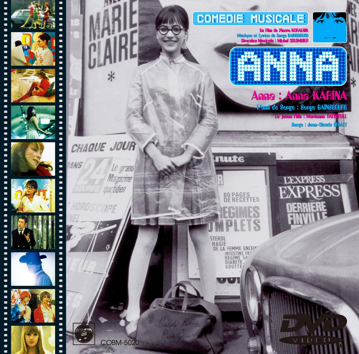 """Anna Karina """"Anna"""" Pamphlet"""