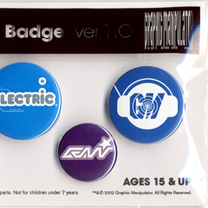 "Graphic Manipulator ""Badge Set"""