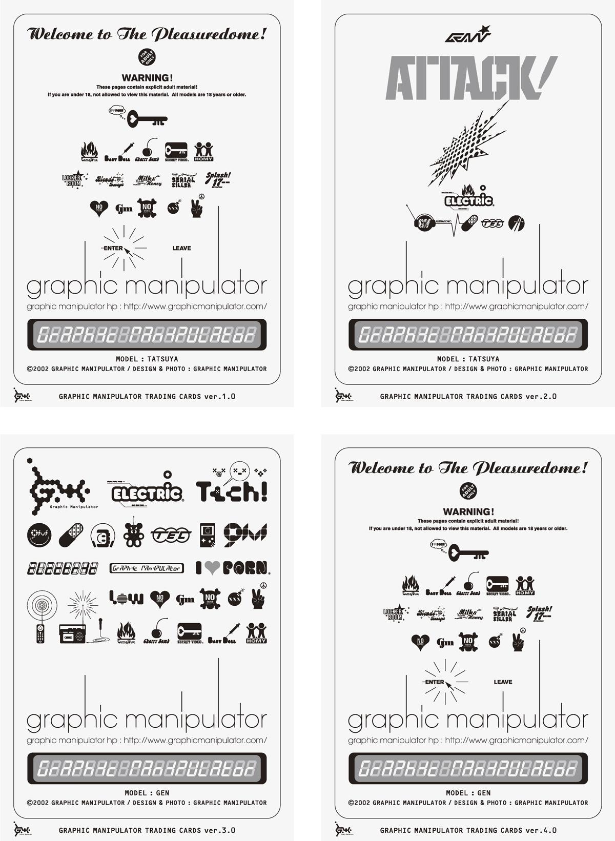 "Graphic Manipulator ""Trading Card"""
