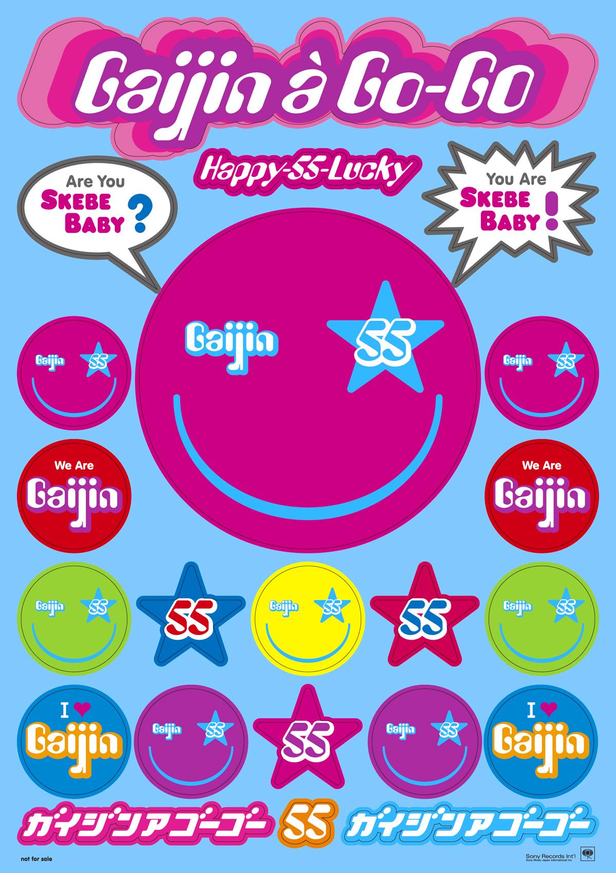"""Gaijin a Go-Go """"Happy-55-Lucky"""""""