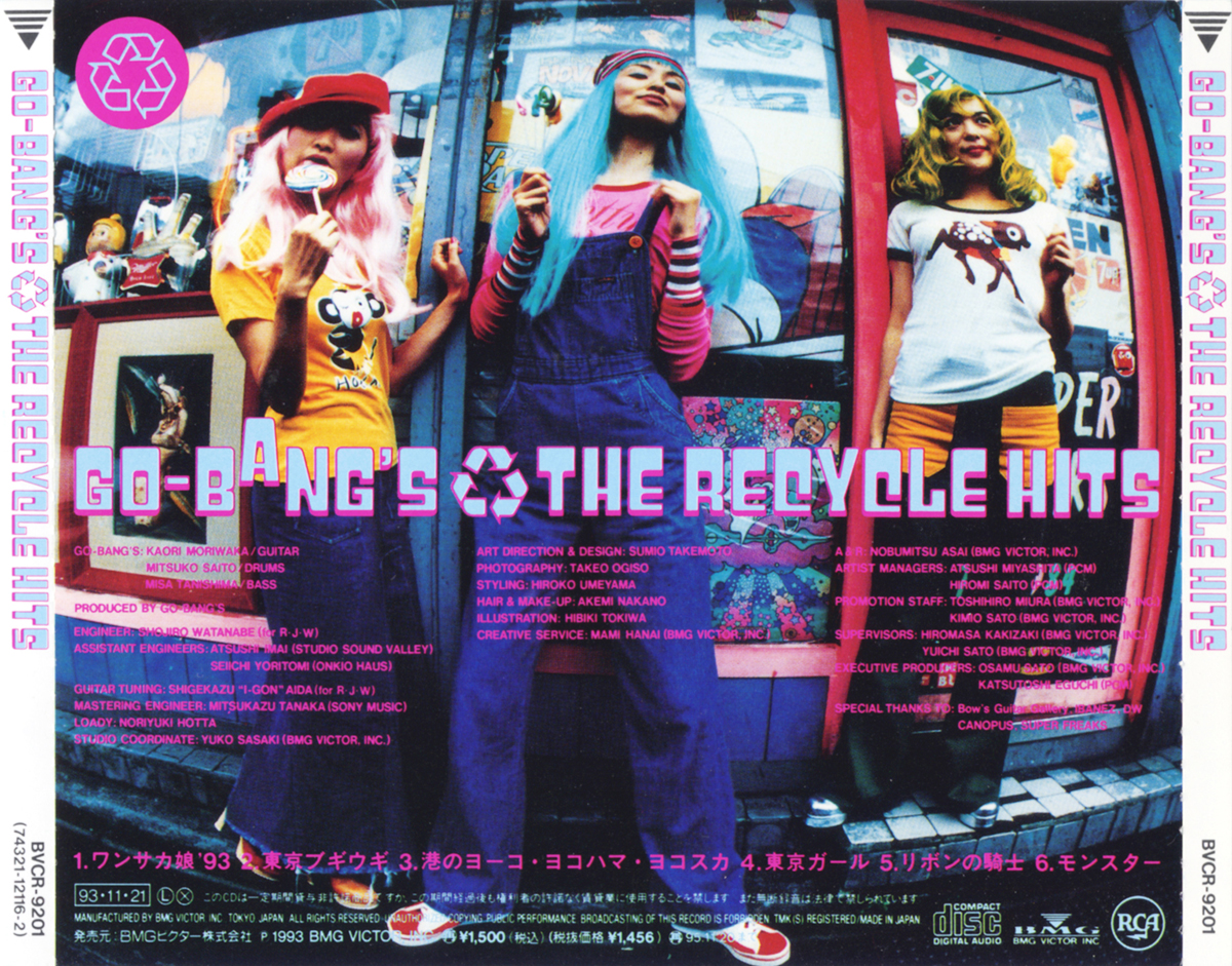 "Go-Bang's ""The Recycle Hits"""
