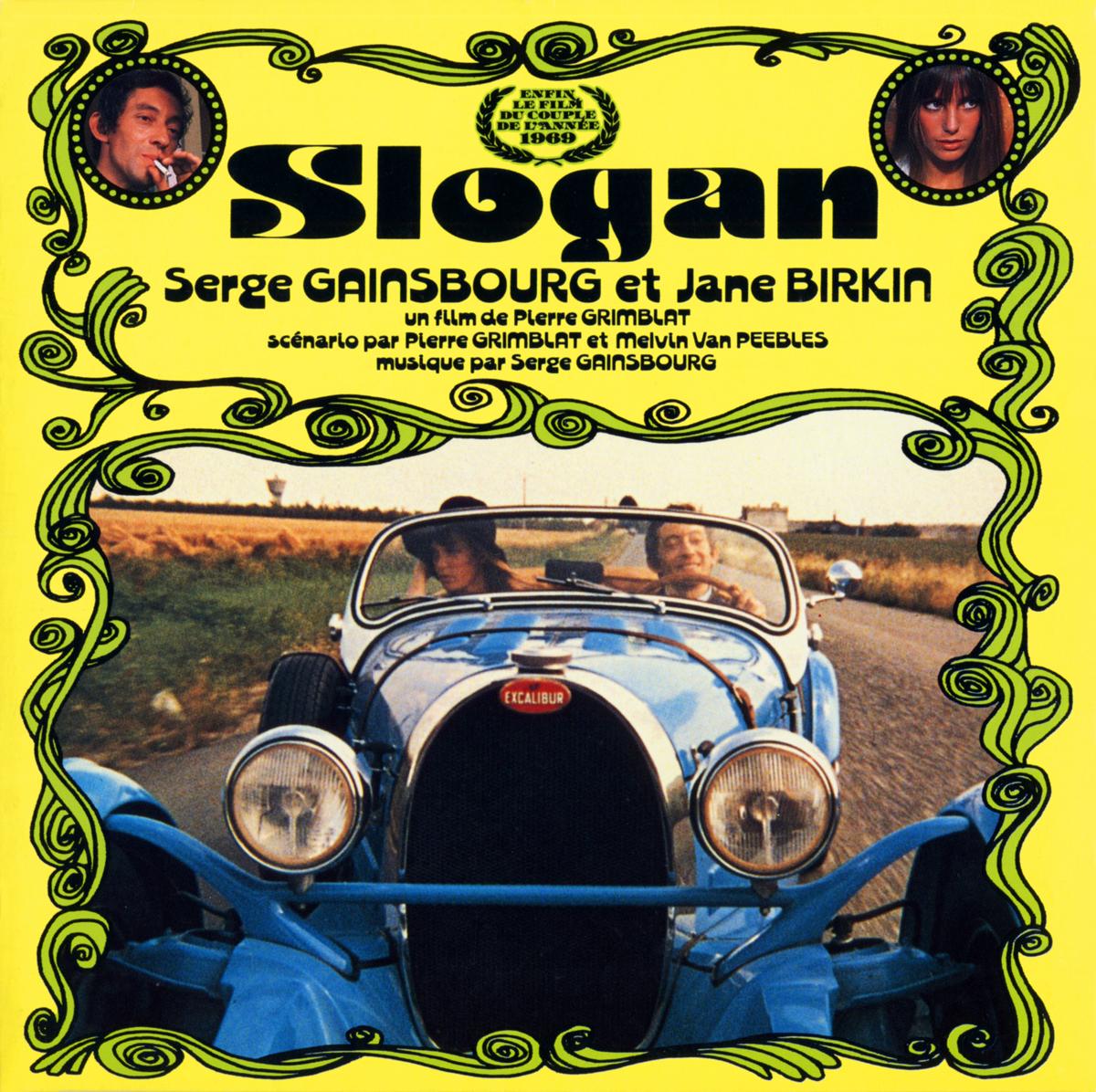 """Serge Gainsbourg et Jane Birkin """"Slogan"""""""
