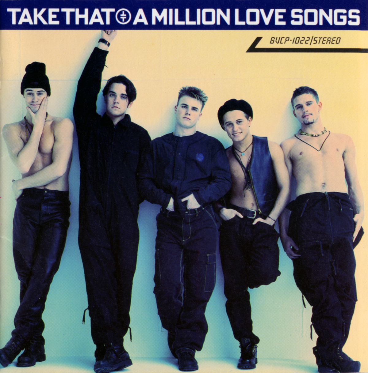 """Take That """"Million Love Songs"""" Japanese Edition"""