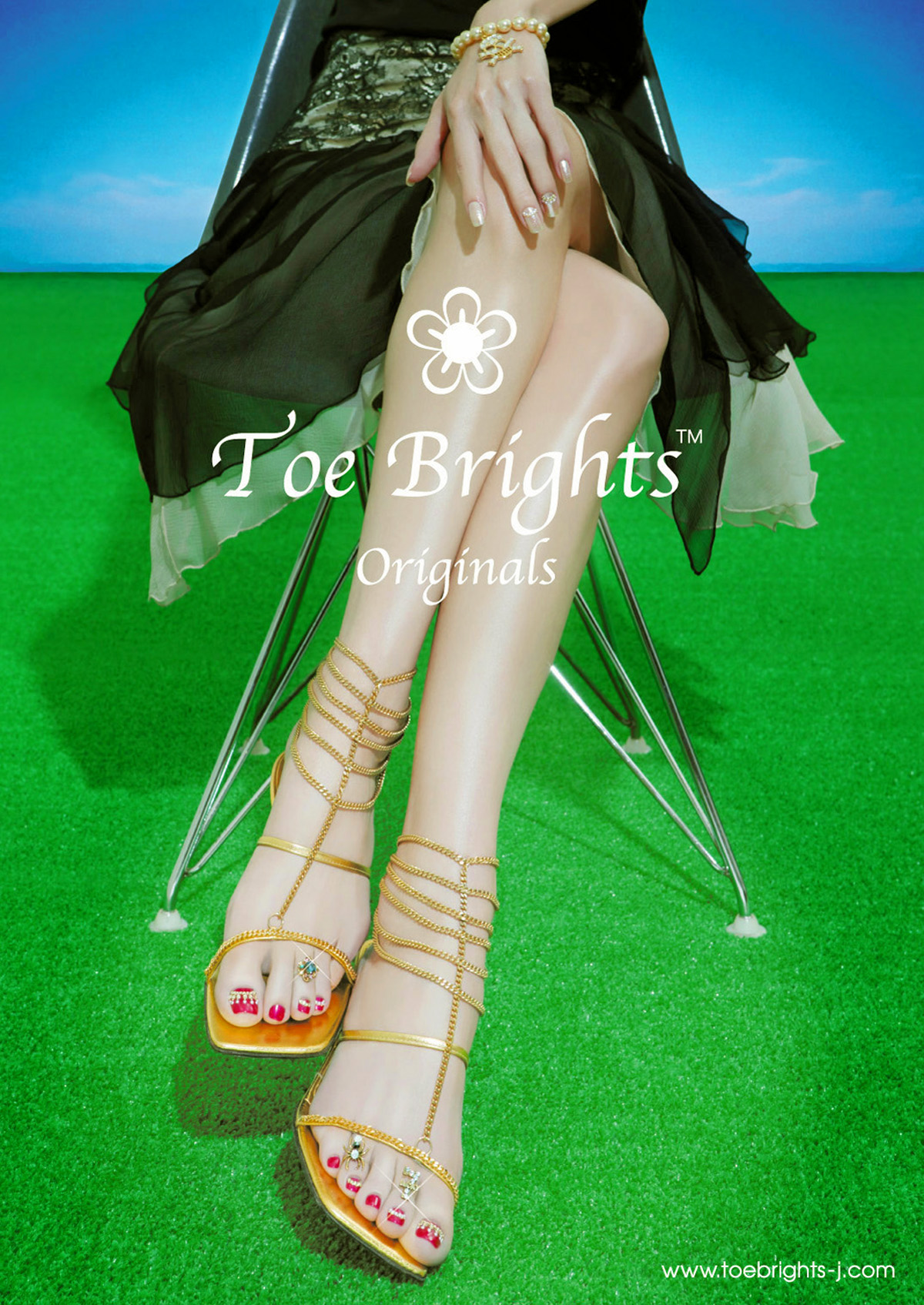 "Toe Brights ""Jewelry"" AD"