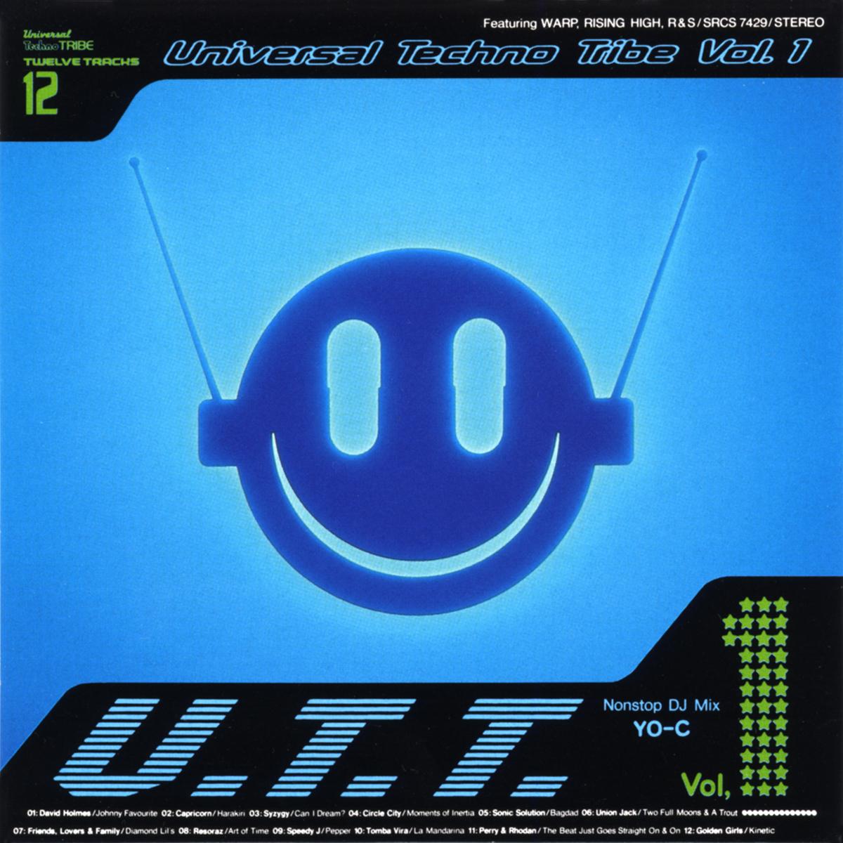 "V.A. Mix by YO-C ""Universal Techno Tribe Voi.1"""