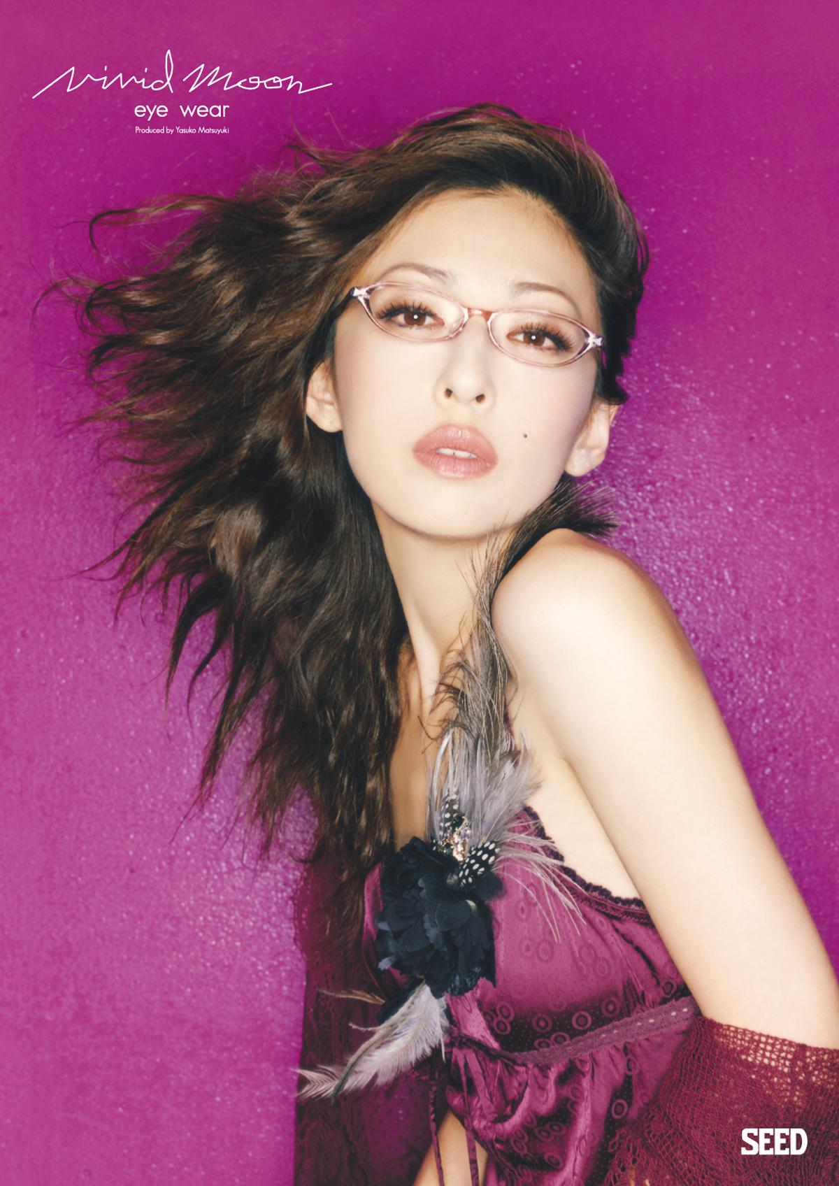 "Yasuko Matsuyuki ""Vivid Moon"" AD"