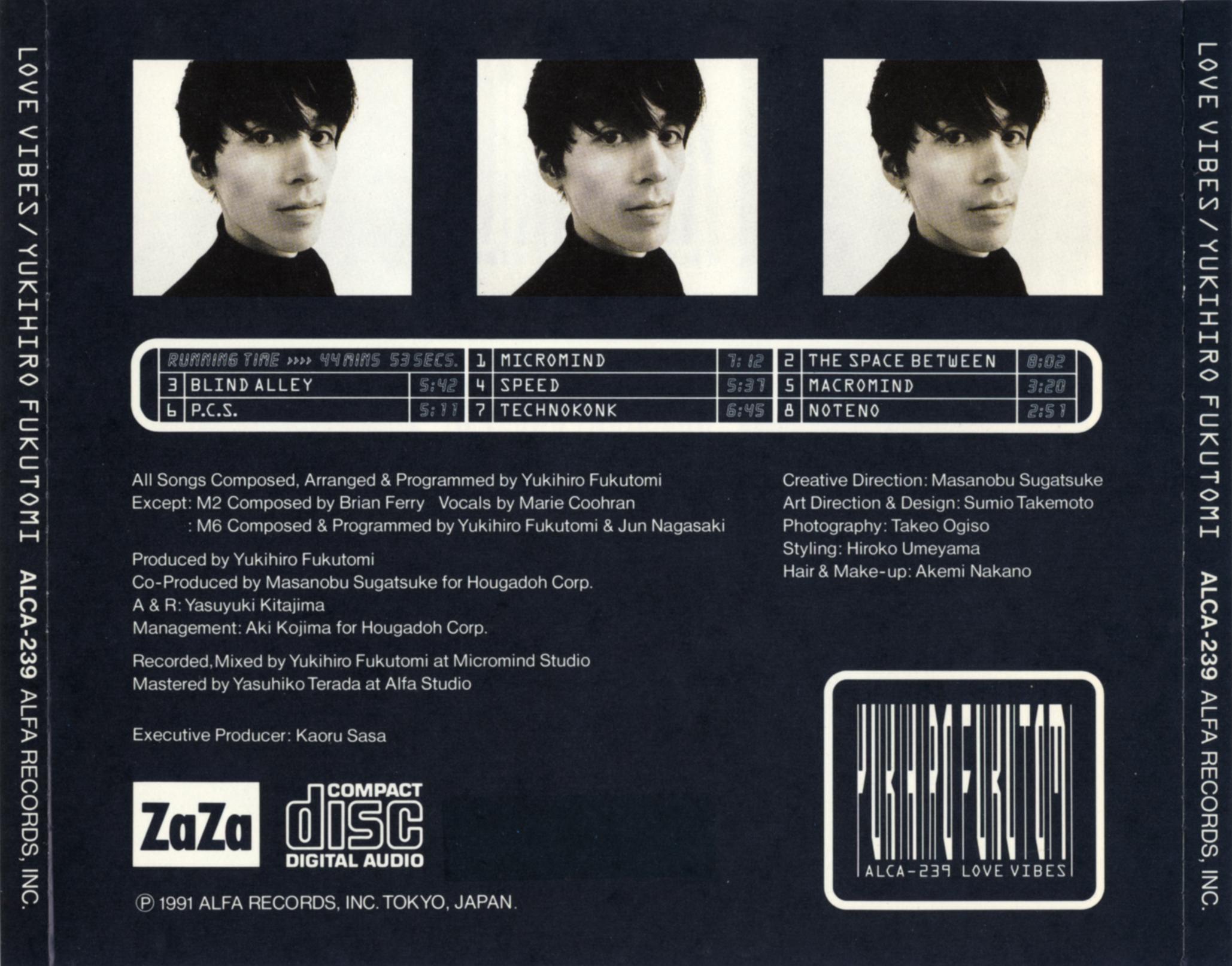 """Yukihiro Fukutomi """"Love Vibes"""""""