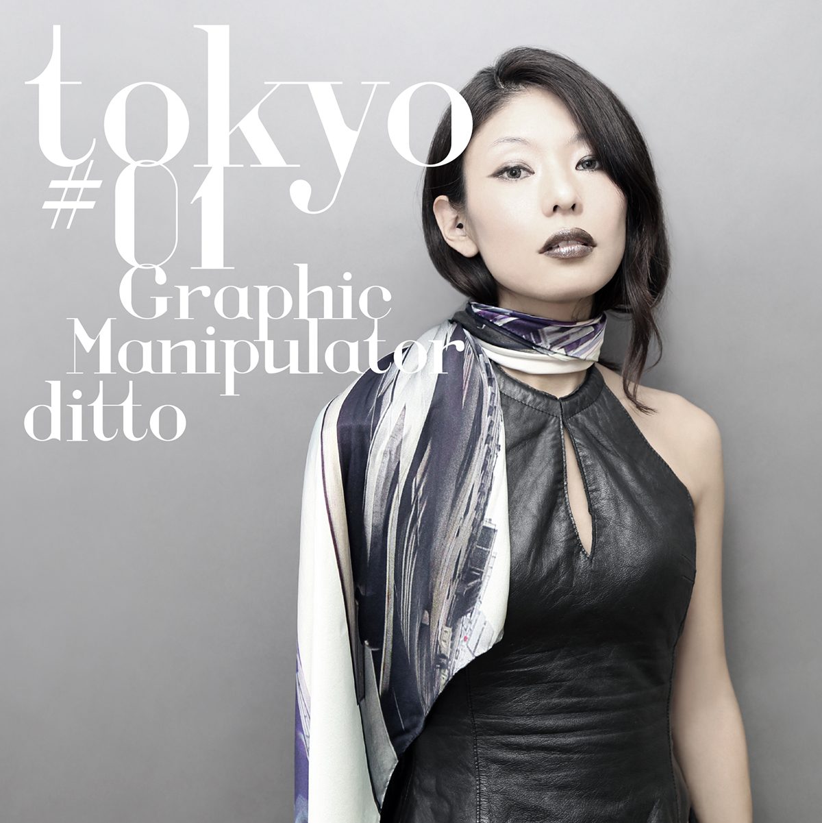 "ditto Scarf ""Graphic Manipulator"""