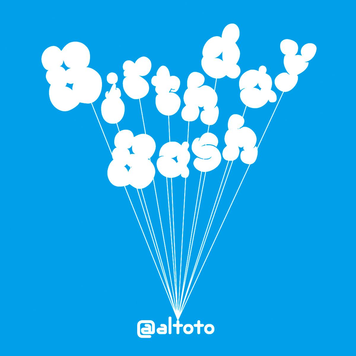 """Birthday Bash """"Birthday Bash Logo"""""""