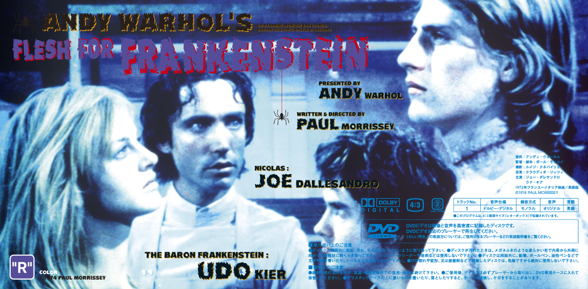 """Andy Warhol's """"Heat"""" """"Blood for Dracula"""" """"Flesh for Frankenstein"""""""