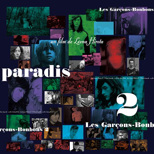 "Léona Hirota ""Les Garcons-Bonbons 2 -I'Oiseau du paradis-"""
