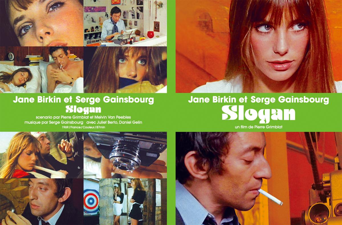 """Serge Gainsbourg et Jane Birkin """"Slogan"""" DVD"""