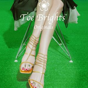 "Toe Brights ""Jewelry"" AD"